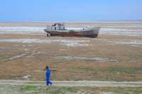 Why the Aral Sea dries up